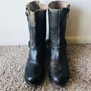 Bed Stu Brown Leather Boots Size 9